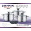 Kép 2/2 - Bohmann 7 részes nemes acél edénykészlet BH 0114