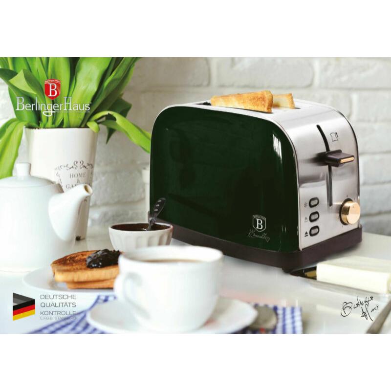 Berlinger Haus Kenyérpirító Emerald BH9058
